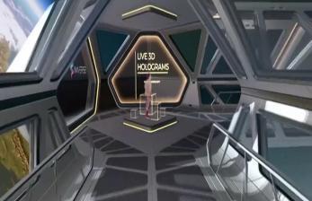Menghadiri Rapat Secara Hologram Tiga Dimensi