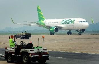 Pesawat Citilink Tersangkut Layangan saat akan Mendarat