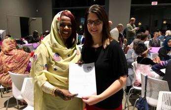 Mazahir Salih, Muslimah Pertama di Dewan Kota Iowa City, AS
