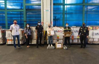 Bea Cukai Soekarno Hatta Fasilitasi Hibah Ventilator dari AS