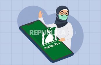 Infografis Mengenal Aplikasi Muslim Pro