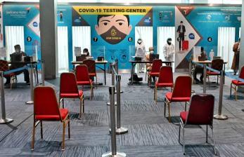 Menhub Minta Fasilitas PCR Bandara Soekarno-Hatta Ditambah