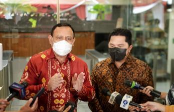 Erick Thohir Gandeng KPK untuk Berantas Korupsi di BUMN