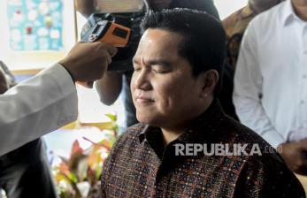 Erick Thohir Minta Semua Disiplin Ikut Anjuran Pemerintah