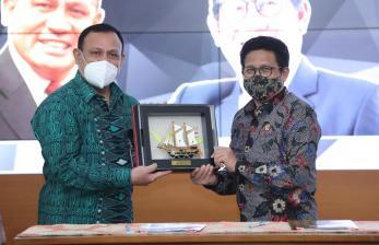 In Picture: Berantas Korupsi di Desa, Kemendes PDTT Gandeng KPK