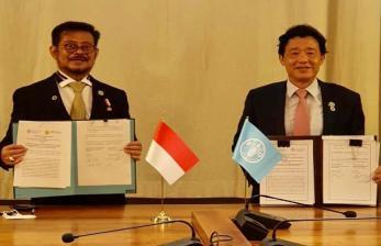Perkuat Leadership Indonesia, Mentan Teken MoU dengan FAO