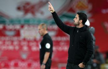 Babak Pertama, Arsenal Vs Leicester Imbang 0-0