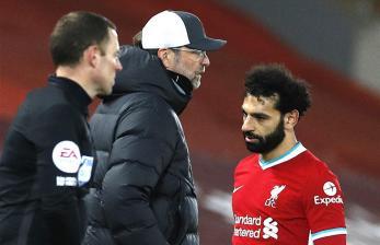 Klopp Komentari <em>Ngambek</em>-nya Salah Saat Liverpool vs Chelsea
