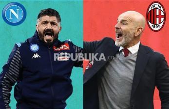 Ini Prediksi Susunan Pemain Jelang Napoli VS AC Milan