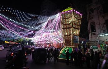 Festival Malam Ramadhan di Kairo Berakhir