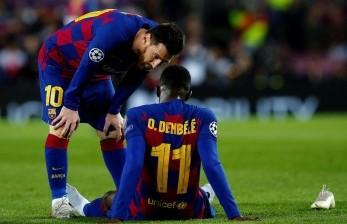 Agen Bantah Rumor Dembele Bakal Tinggalkan Barcelona