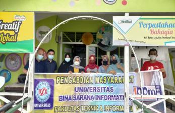 Pandemi Bukan Halangan Dosen UBSI Pontianak Mengabdi