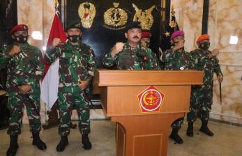 Panglima TNI Ingatkan Ancaman Perang Informasi di Internet