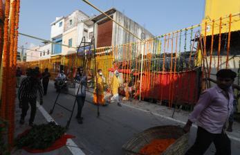 Pria Hindu di Lucknow Menyumbang Uang untuk Masjid Ayodhya