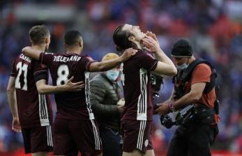 Leicester Juara Piala FA Usai Kalahkan Chelsea 1-0