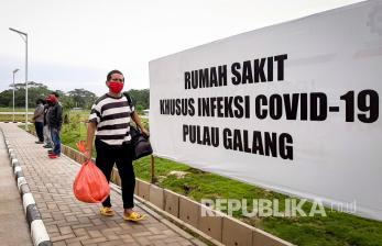 RSKI Galang Masih Rawat 258 Pasien Positif Covid-19