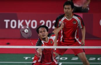 Ahsan/Hendra Lolos ke Semifinal Ganda Putra Olimpiade 2020