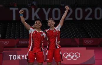 In Picture:  Greysia/Apriyani Melaju ke Final Olimpiade