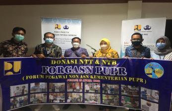 Pegawai Honorer PUPR Galang Dana untuk Korban Banjir NTT-NTB