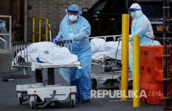 Kematian Akibat Corona di Rumah tak Terlaporkan di New York