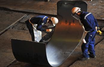 Menteri BUMN Minta Krakatau Steel Tingkatkan Produksi Baja