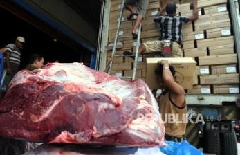 Importir Datangkan 6.000 Ton Daging Sapi Beku Mei Ini