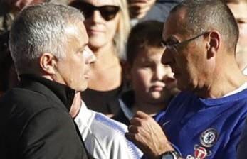 Sarri Vs Mourinho di Derby Ibu Kota