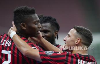In Picture: Milan Bungkam Juventus dengan Skor 4-2