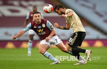 In Picture: Manchester United Bungkam Aston Villa 3-0
