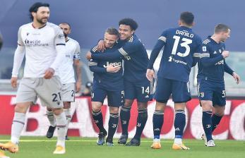 Juventus Bungkam Bologna dengan Skor 2-0