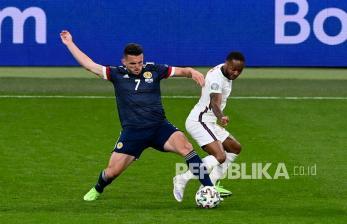 In Picture: Inggris Ditahan Imbang Tanpa Gol Oleh Skotlandia