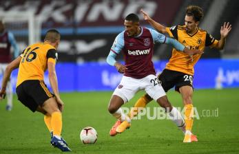 In Picture: West Ham Bungkam Wolves dengan Skor 4-0