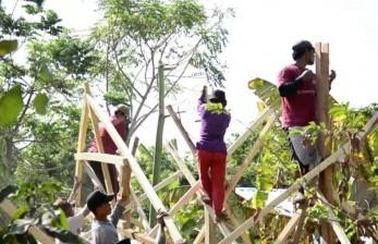 Fasilitator Belum Berani Membangun Rumah Tahan Gempa