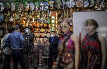 Grand Bazaar Objek Favorit Liburan Hari Buruh di Xinjiang