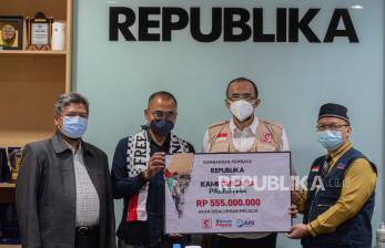 MER-C Salurkan Bantuan Pembaca Republika untuk Palestina