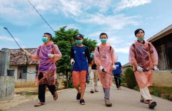 Aksi Pemuda Peduli Wabah Covid-19 di Bangka Belitung