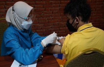 Harlah, DPW PKB Jawa Barat Gelar Vaksinasi Masal