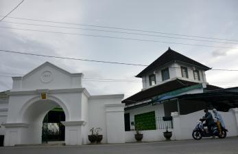 In Picture: Masjid Tua Al Hilal Katangka Gowa Dibangun Pada Tahun 1603