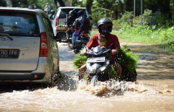 In Picture: Banjir di Ngawi Rendam Sejumlah Desa dan Sawah