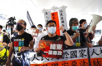 Polisi Hong Kong Dakwa 47 Aktivis Demokrasi