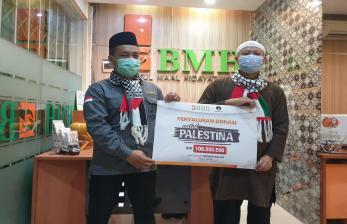 Hidayatullah Salurkan Donasi untuk Palestina Melalui BMH