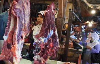 Harga Daging di Lampung Melambung, Satgas Pangan Sidak