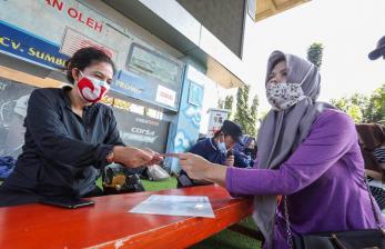 Distribusi Bansos PPKM Darurat Kota Bandung 99 Persen