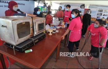 In Picture: Pelatihan Membuat Kue untuik Penyandang Disabilitas