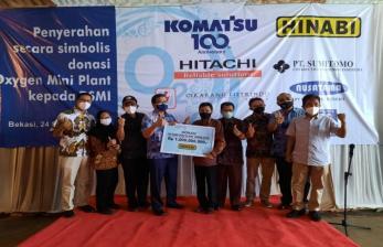 BSMI Terima Donasi Oksigen Mini Plant dari Hinabi