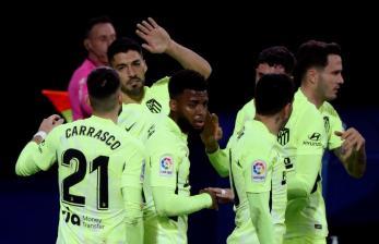 Luis Suarez Antar Atletico Madrid Genggam Kemenangan