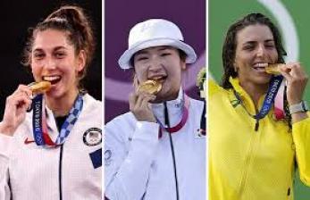 Mengapa Para Olimpian Suka Gigit Medali?