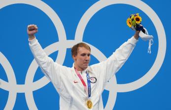 Anak Didik Michael Phelps Raih Emas Olimpiade Tokyo