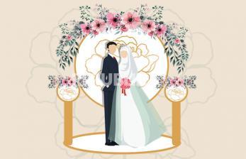Infografis Adab Resepsi Pernikahan dalam Islam