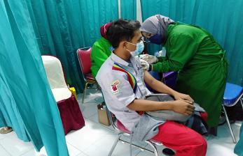 Pertamina Kembali Gencarkan Vaksinasi Operator dan AMT